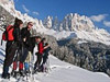 Ski wintersport in Italië